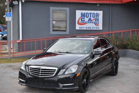 2013 Mercedes-Benz E-Class for sale at Motor Car Concepts II - Kirkman Location in Orlando FL
