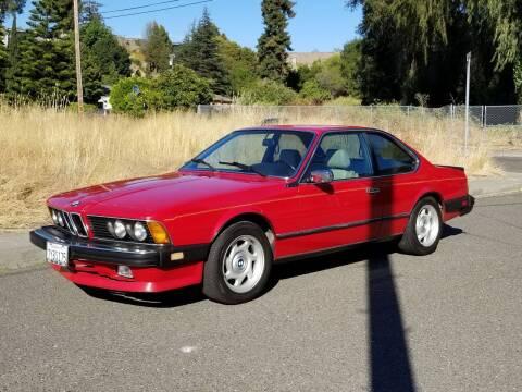 1986 BMW 6 Series for sale at Gateway Motors in Hayward CA