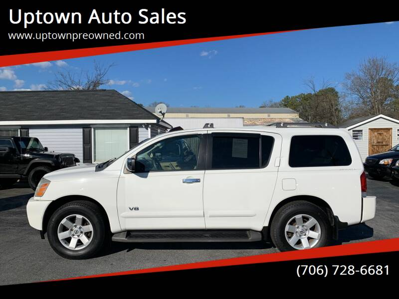 2006 Nissan Armada for sale at Uptown Auto Sales in Rome GA