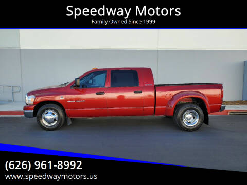2006 Dodge Ram Pickup 3500 for sale at Speedway Motors in Glendora CA