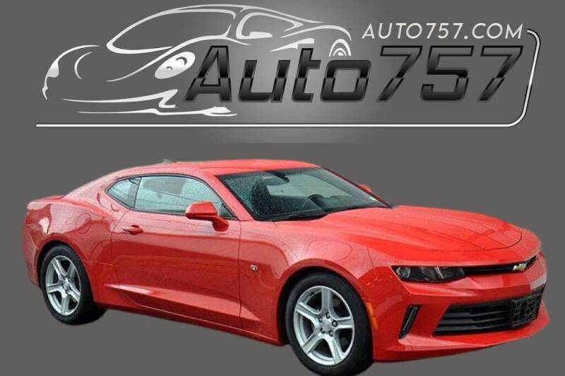 2017 Chevrolet Camaro for sale at Auto 757 in Norfolk VA
