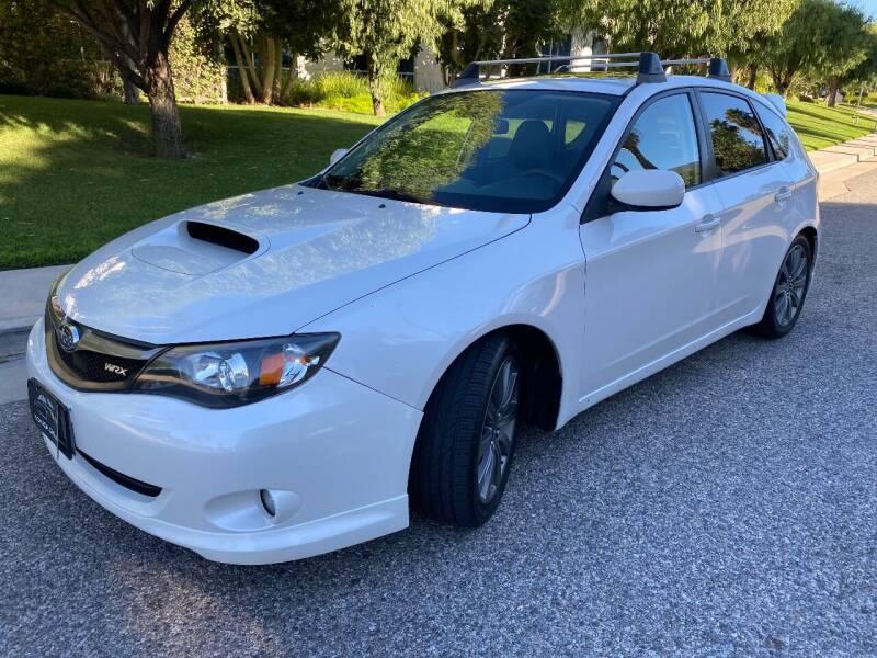 2010 Subaru Impreza for sale at Donada  Group Inc in Arleta CA