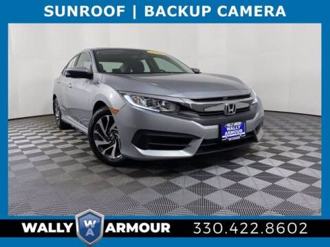 2016 Honda Civic for sale at Wally Armour Chrysler Dodge Jeep Ram in Alliance OH