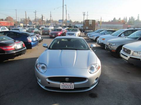 2008 Jaguar XK-Series for sale at Dealer Finance Auto Center LLC in Sacramento CA