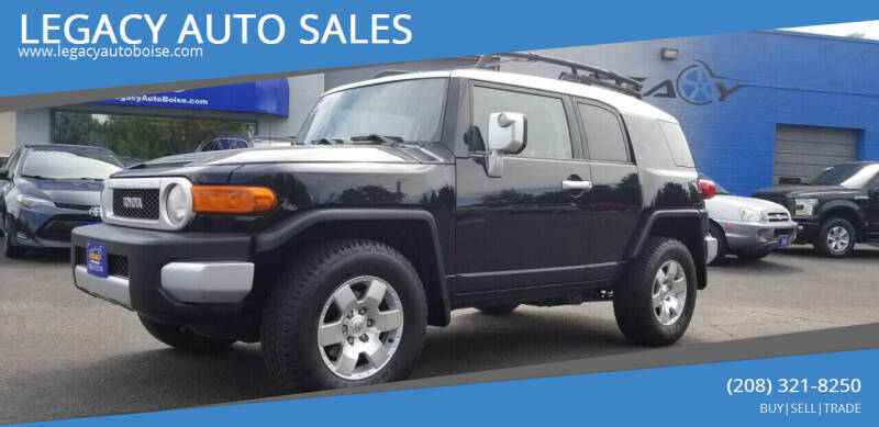 2007 Toyota FJ Cruiser for sale at LEGACY AUTO SALES in Boise ID
