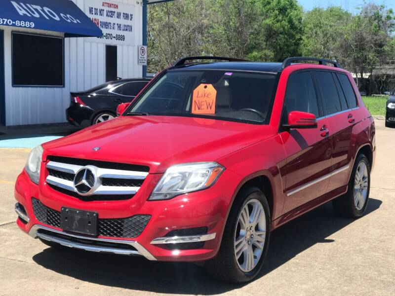 2015 Mercedes-Benz GLK for sale at Discount Auto Company in Houston TX