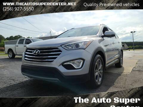 2013 Hyundai Santa Fe for sale at The Auto Super Center in Centre AL
