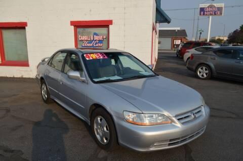2002 Honda Accord for sale at CARGILL U DRIVE USED CARS in Twin Falls ID