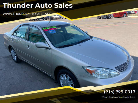 2003 Toyota Camry for sale at Thunder Auto Sales in Sacramento CA