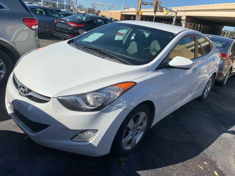 2013 Hyundai Elantra for sale at New Start Auto in Richardson TX