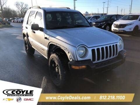 2002 Jeep Liberty for sale at COYLE GM - COYLE NISSAN in Clarksville IN