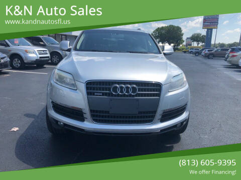 2008 Audi Q7 for sale at K&N Auto Sales in Tampa FL