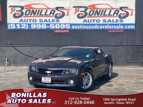 2013 Chevrolet Camaro for sale at Bonillas Auto Sales in Austin TX