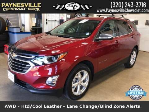 2018 Chevrolet Equinox for sale at Paynesville Chevrolet Buick in Paynesville MN
