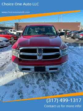 2017 RAM Ram Pickup 1500 for sale at Choice One Auto LLC in Beech Grove IN