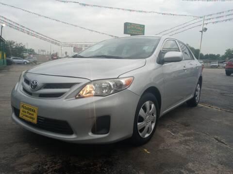 2012 Toyota Corolla for sale at Pasadena Auto Planet in Houston TX