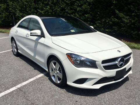2015 Mercedes-Benz CLA for sale at Limitless Garage Inc. in Rockville MD