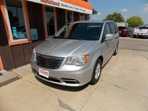 2012 Chrysler Town and Country for sale at Autoland in Cedar Rapids IA