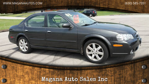 2003 Nissan Maxima for sale at Magana Auto Sales Inc in Aurora IL