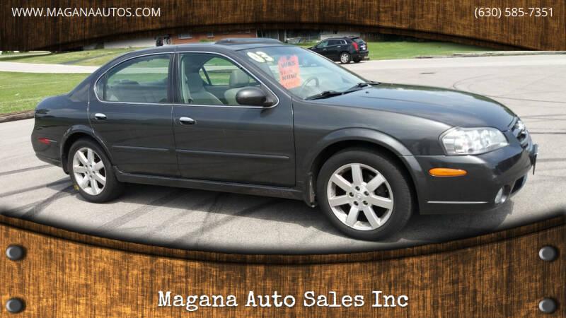 2003 Nissan Maxima for sale at Magana Auto Sales Inc in Aurora IL