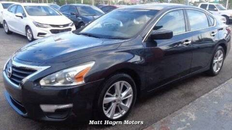 2014 Nissan Altima for sale at Matt Hagen Motors in Newport NC