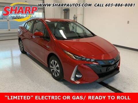 2021 Toyota Prius Prime for sale at Sharp Automotive in Watertown SD