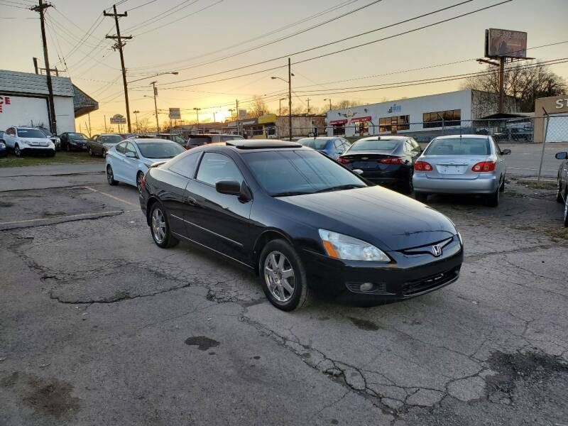 2005 Honda Accord for sale at Green Ride Inc in Nashville TN