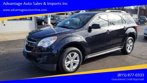 2012 Chevrolet Equinox for sale at Advantage Auto Sales & Imports Inc in Loves Park IL