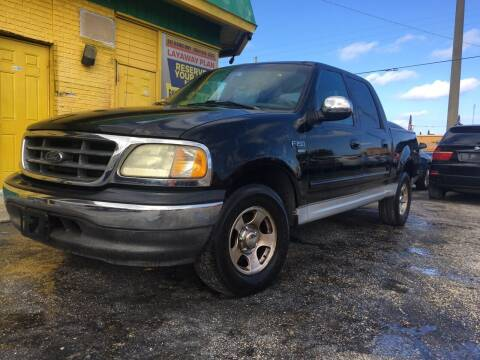 2002 Ford F-150 for sale at Trans Copacabana Auto Sales in Hollywood FL