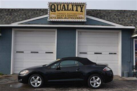 2007 Mitsubishi Eclipse Spyder for sale at Quality Pre-Owned Automotive in Cuba MO
