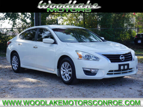 2014 Nissan Altima for sale at WOODLAKE MOTORS in Conroe TX