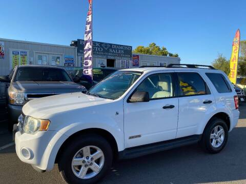 2008 Ford Escape Hybrid for sale at Black Diamond Auto Sales Inc. in Rancho Cordova CA