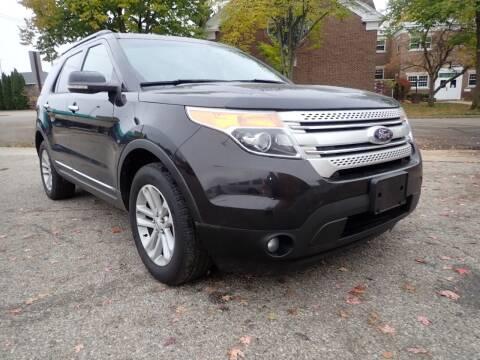 2013 Ford Explorer for sale at Marvel Automotive Inc. in Big Rapids MI