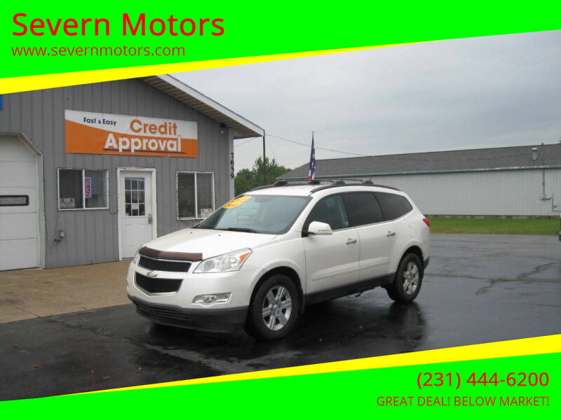 2012 Chevrolet Traverse for sale at Severn Motors in Cadillac MI