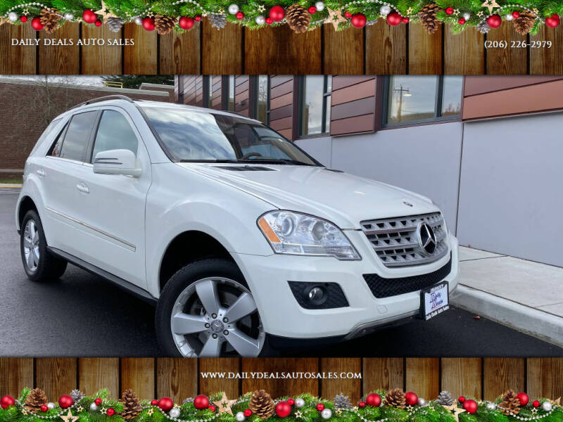 2011 Mercedes-Benz M-Class for sale at DAILY DEALS AUTO SALES in Seattle WA