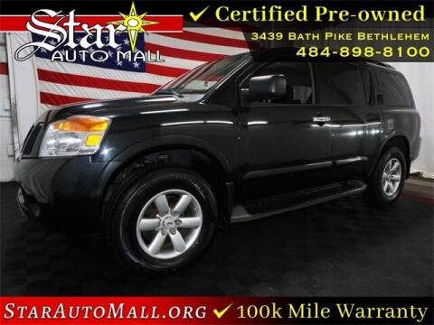 2015 Nissan Armada for sale at STAR AUTO MALL 512 in Bethlehem PA