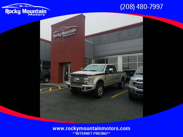 2018 Ford F-350 Super Duty for sale at Rocky Mountain Motors in Idaho Falls ID