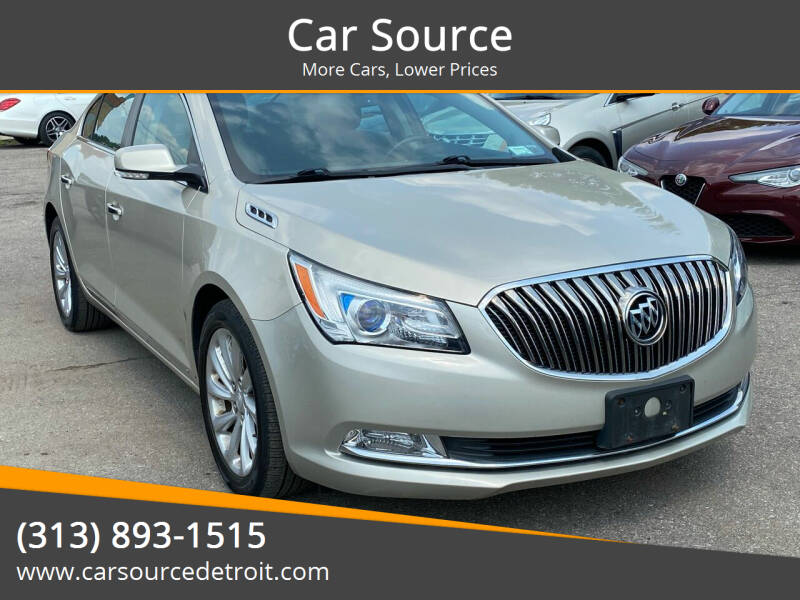 2014 Buick LaCrosse for sale at Car Source in Detroit MI