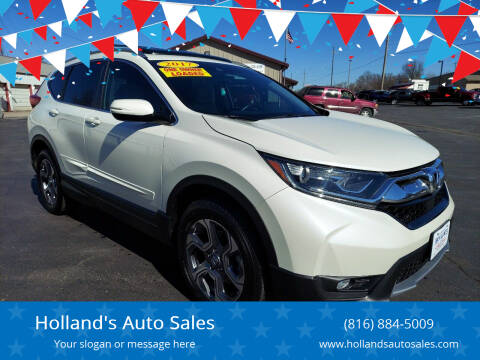 2017 Honda CR-V for sale at Holland's Auto Sales in Harrisonville MO