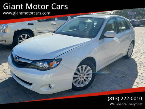 2010 Subaru Impreza for sale at Giant Motor Cars in Tampa FL