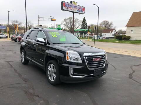 2016 GMC Terrain for sale at Dream Auto Sales in South Milwaukee WI