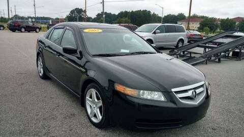 2005 Acura TL for sale at Kelly & Kelly Supermarket of Cars in Fayetteville NC