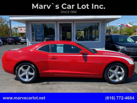 2011 Chevrolet Camaro for sale at Marv`s Car Lot Inc. in Zeeland MI