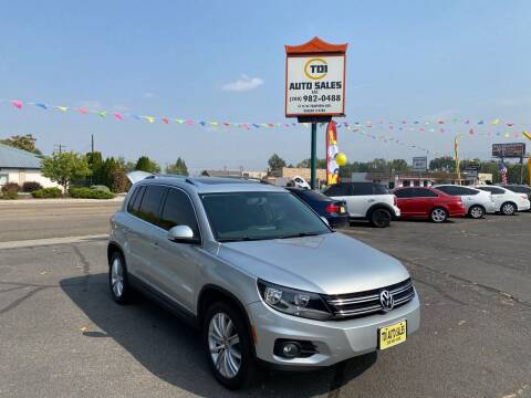 2012 Volkswagen Tiguan for sale at TDI AUTO SALES in Boise ID