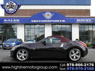 2012 Nissan 370Z for sale at Highline Group Motorsports in Lowell MA