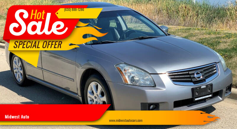 2007 Nissan Maxima for sale at Midwest Auto in Naperville IL