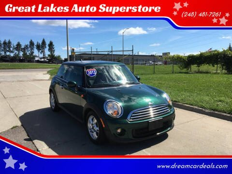 2013 MINI Hardtop for sale at Great Lakes Auto Superstore in Waterford Township MI