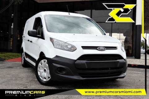 2016 Ford Transit Connect Cargo for sale at Premium Cars of Miami in Miami FL