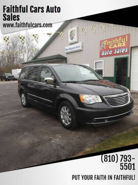 2011 Chrysler Town and Country for sale at Faithful Cars Auto Sales in North Branch MI