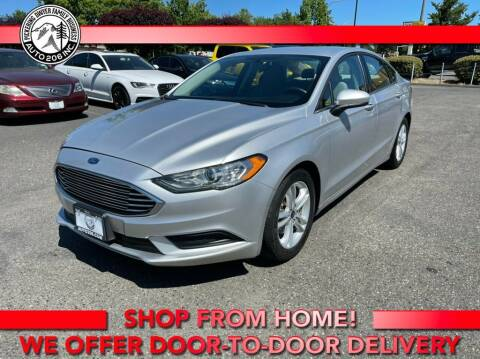 2018 Ford Fusion for sale at Auto 206, Inc. in Kent WA